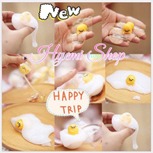 [HYEMI SHOP]★Gudetama Egg Slime★ Squishy Slimy Toy. Suitable for 3+ and above.