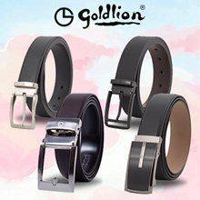 Goldlion 2018 Leather Belts Collection (OVER 20 DESIGNS)