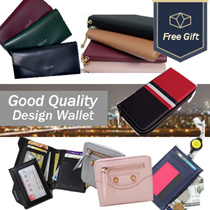 【COWHIDE 】 ★ New Korea Long wallets / Short wallets / Lanyard ★HIGH FUNCTIONAL