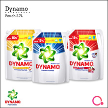 [PnG]  Dynamo Power Gel Liquid Detergent Pouch / 2.4kg / 2.7kg / Wash