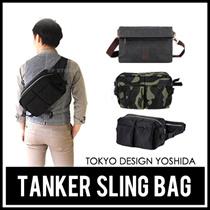 ★Tokyo Design Yoshida★ Tanker Sling Bag/Biker Bag/Casual bag/Messenger bag/Office bag/Travel bag/