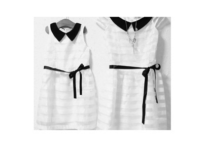 8e2c48cc79 Mother Daughter Royal White Princess Dress