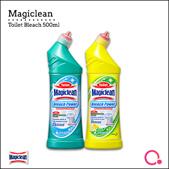 [Kao] 【Bundle of 4】Magiclean Toilet Bleach power Regular / Lemon 500ml