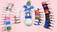 Velvet Satin Ribbon Shoelaces Flat Silk Shoes Lace