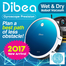 ⚡【⏰ MAD SALE】Dibea®  GT100 Aurora Robotic Vacuum Cleaner Gyroscope🌟