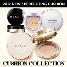 ☆ Apply Qoo10 Coupon ☆  [HERA / SULWHASOO] Cushion Foundation Collection /