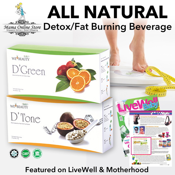 ?Best Seller?DTone DGreen?ALL NATURAL Slimming/Detox BeverageMade from 100% Natural Fruit Enzymes? Deals for only S$390 instead of S$0