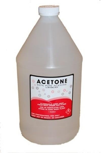 100 Pure Acetone Gel Remover Soak Off Liquid Solution 1 Gallon And Salon Nail Polish