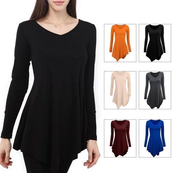 女性夏Vネックルーズカジュアル半袖ポケットソリッドカラーミニドレスプラスサイズブラック、レッド、a