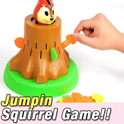 Qoo10 Jumpin Squirrel Game Roulette Children Boy Girl Party