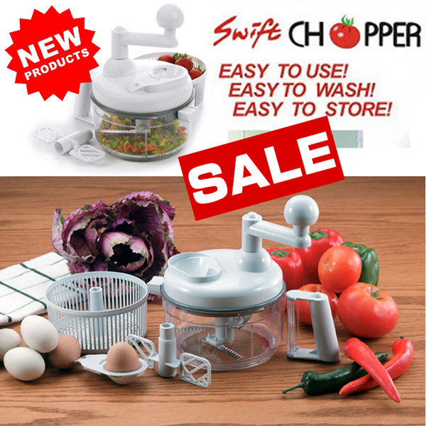 SWIFT CHOPPER PENGGILING SAYURAN BUAH SAMBAL ALAT DAPUR PEMOTONG Deals for only Rp145.000 instead of Rp145.000