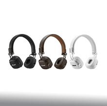 Marshall Major3 Bluetooth Wireless Headphones Black White Brown Color / Marshall Major III Bluetooth Headphones