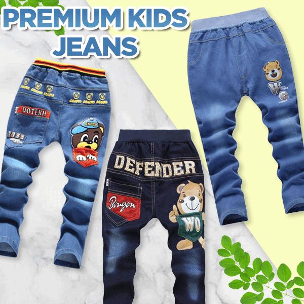Kids Longs Pants Boys jeansShorts/pants/sleeve/bottom/top/pyjamas/girls/boys/children/child/ Deals for only Rp29.900 instead of Rp29.900
