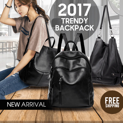 FREE SHIPPING! BEST SELLER!New Woman Backpack 2017 Deals for only Rp165.000 instead of Rp165.000