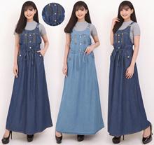 Maxi Dress Erh Longdress Overalls Jumpsuit Jeans for Women