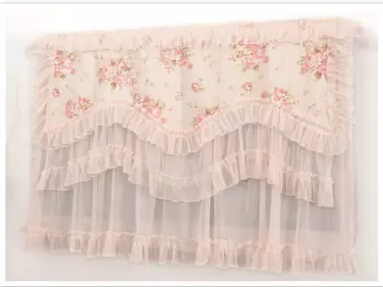 Continental Coffee table cloth refrigerator dust cover TV cover cloth lace  tablecloth how full unive