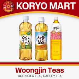 Woongjin Teas / Corn Silk Tea / Barley Tea / Cassia Tea / 500ml