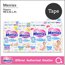 [Kao]【TAPE】Merries Diapers | Official reseller