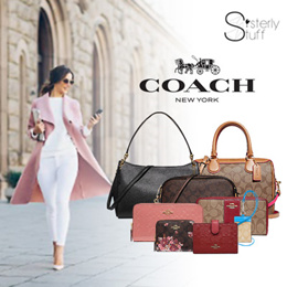 COACH NEW COLLECTION - WALLETS AND BAGS-NEW STYLES ADDED a870881b5aa87