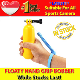 [FAST SHIPPING!] Floaty Bobber Hand Grip Floating Handle Mount - For Gopro Hero 4/3+/3/2/1 SJCAM SJ4000 SJ5000 SJ M10 Xiaomi Yi and All Cameras