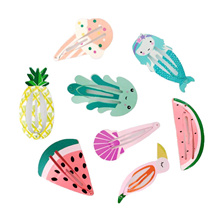☆ 20 Designs ☆ Flamingo Pineapple Mermaid  Watermelon Unicorn Cute BB Clips Hair Accessories