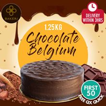 Rich and Spongy Chocolate Belgium Cake!! Perfect for Chocolate Lovers!!