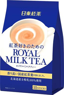 FREE SHIPPING!! NITTOH TEA 日東紅茶 Royal Milk Tea 10 sticks × 6 from Japan!!