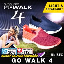 [SKECHERS GO WALK 4] EXCLUSIVE | Sport Shoes | New Arrival! | Unisex |