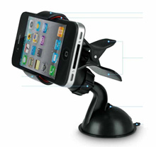 Mini Rotate Car Phone Holder Clip Capit Handphone Smartphone HP Rotasi
