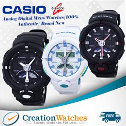 [CreationWatches] Casio G-Shock Analog Digital Mens Watches|100% Authentic| Brand New