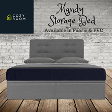 ★Storage Bed☆Huge Compartment Space☆Furniture☆Bed☆Modern☆Designer☆Cheap☆Queen Size ONLY