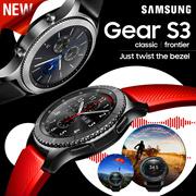 SAMSUNG Gear S3 Classic | Frontier | Gear Sports Smartwatch Galaxy Smart Watch / Bluetooth Smart