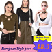 BIG SALE Women Stylish Cool Long Sleeves Top / Flare / Cutout / Sexy / Bodycon / Colors