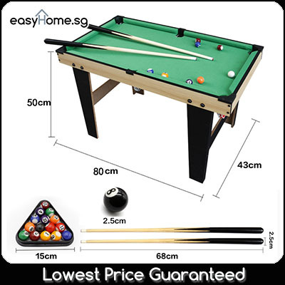 Pool Table (2 Sizes) / Kids Toy Game/ Pool Billiard Snooker Pool Balls