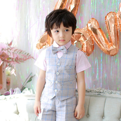Dandy Beige Boys Formal Dresses Vests Separated Children S Formal Shirts Toddler Suits Baby Suits Ch