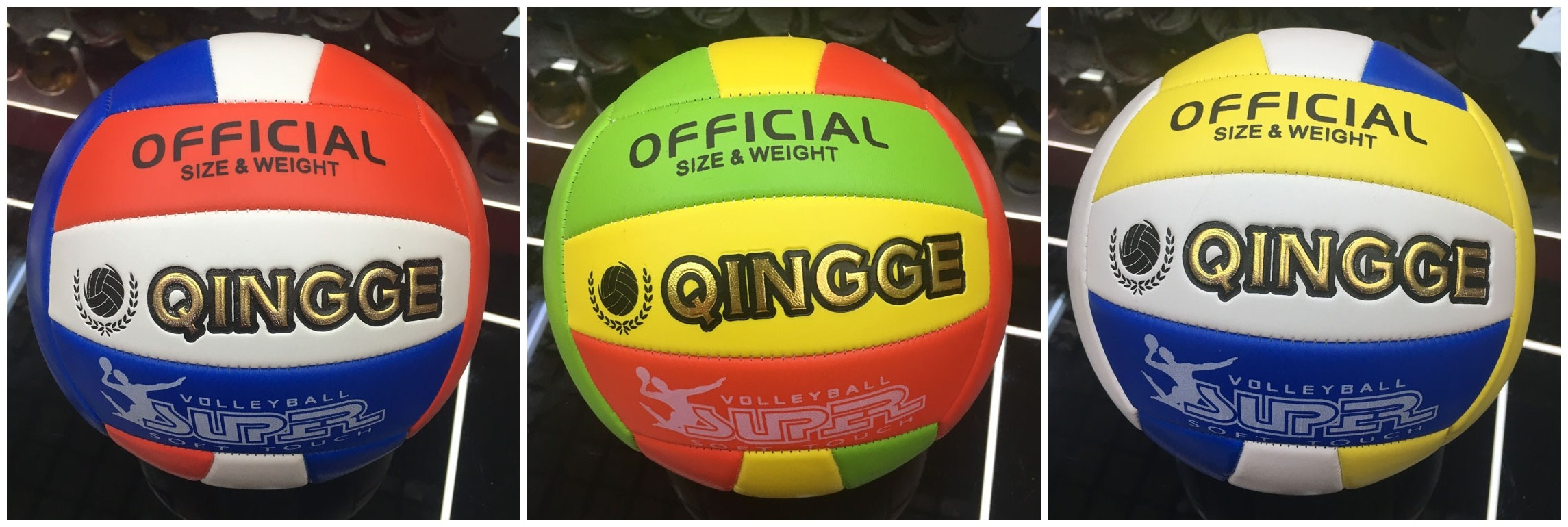 5pcs Official Weight and Size 5 PU Beach Volleyball Indoor Outdoor Training  Game ball Match volleyba