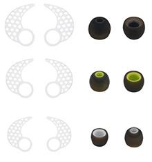 Ear tips for jaybird x2 , BLUEWALL Eartips Ear Gel Ear hook for Jaybird X , Anti-Slip Durable Silico