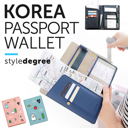✈️ PASSPORT Wallet Holder and Cover! ★ Quality TRAVEL Korea pouch organizer card case organiser