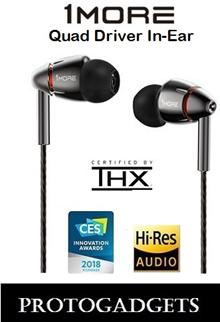 (LOCAL SELLER) (BNIB) E1010 1MORE Quad Driver In-Ear Headphones (1 YEAR LOCAL WARRANTY)