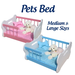 ★ Pets Bed ★ Pet Dog And Cat Own Comfortable Rest + Play Area With Cushion And Mat - 2 Sizes!