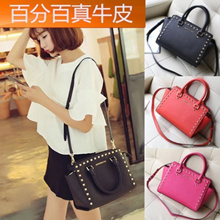 Riveting obliquely across the shoulder bag LV Taiga leather bat wings smiley Pack a killer mobile sm