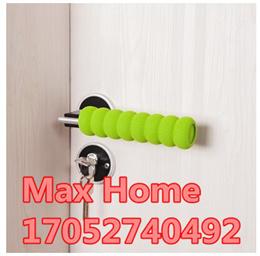 【10/SET 】Thick door handle sets of children slip grip cover screw doorknob crash protection cover EV