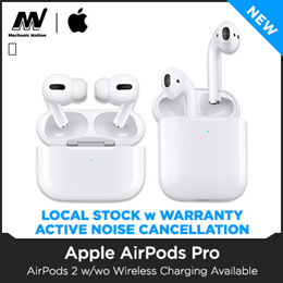 *Local Stocks* AIRPOD PRO / AIRPOD 2  - Wired / Wireless Charging Case. 12 Months Warranty!