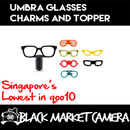 [BMC] umbra Glasses Charms and Topper | Wine Glasses | Ornamental Quirky Design