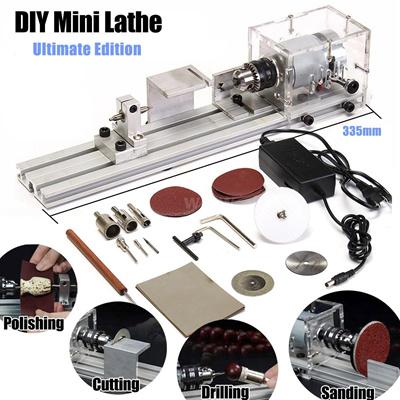 Qoo10 Mini Lathe Beads Hine Polisher Table Saw Mini Diy