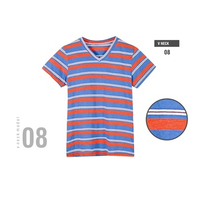 V-neck stripe 8