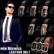 2017 Men business leather belt ★ Automatic buckle belt ★ Needle buckle belt ★ Korean Casual fashion
