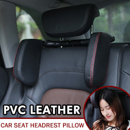 Car Seat Headrest Neck Pillow Neck Rest Seat Headrest Cushion Pad Head Safety Protection Travelling