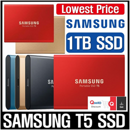 Samsung Portable SSD T5 1TB / Black / Direct From KOREA