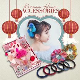 2021 New Arrivals Korean Hair Accessories Hair Ties Rubber Bands Hair Clips